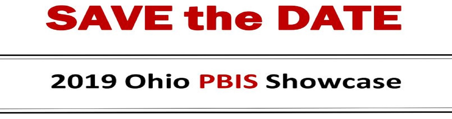 2019 Ohio PBIS Showcase--December 11, 2019